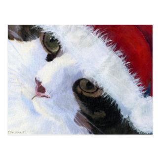 Cartão Postal Ho Ho gato do gatinho