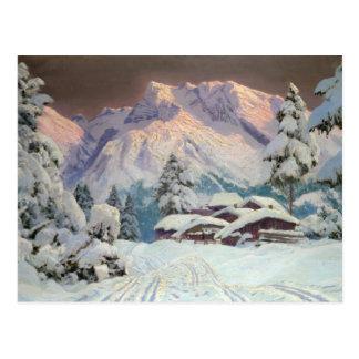 Cartão Postal Hocheisgruppe, Áustria