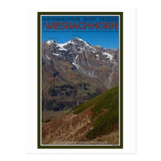 Cartão Postal Hohe Tauern - Wiesbachhorn