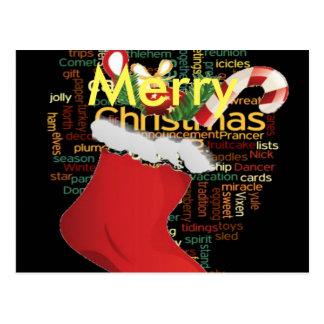 Cartão Postal HoHoHo! Feliz Natal