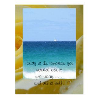 Cartão Postal Hoje é o amanhã você w…