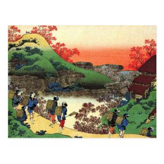 Cartão Postal Hokusai - arte japonesa - opinião legal da