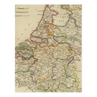 Cartão Postal Holland ou as sete províncias unidas