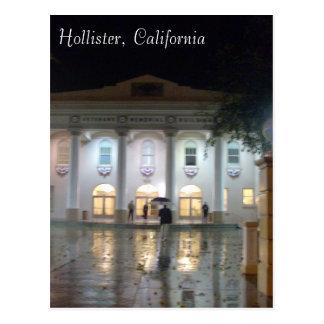 Cartão Postal Hollister, a construção memorável dos veteranos de