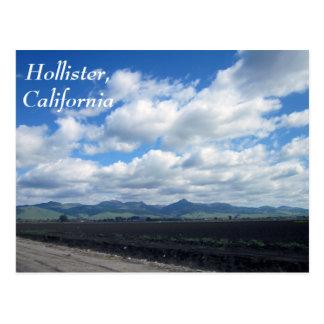 Cartão Postal Hollister, Califórnia