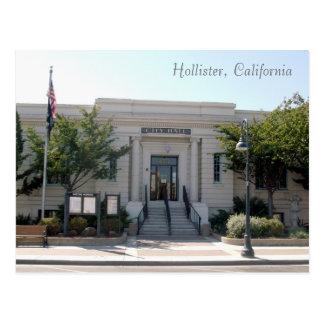Cartão Postal Hollister, câmara municipal de CA