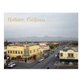Cartão Postal Hollister do centro, Califórnia