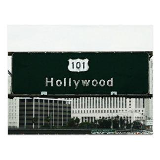 Cartão Postal Hollywood