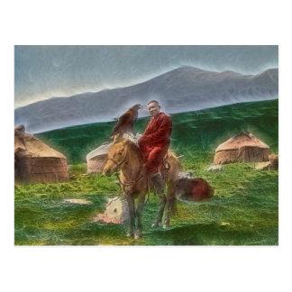 Cartão Postal Homem cazaquistanês