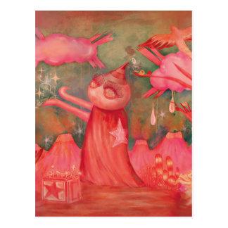 Cartão Postal homem do pêssego