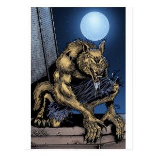 Cartão Postal Homem-lobo