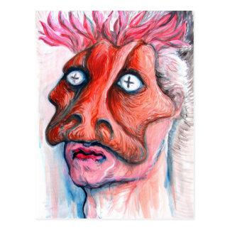 Cartão Postal Homem mascarado
