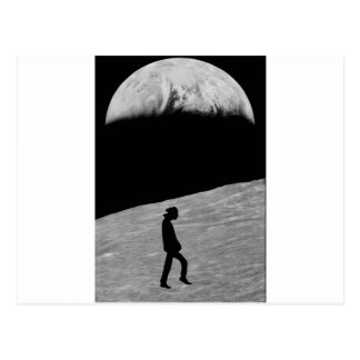 Cartão Postal Homem na lua