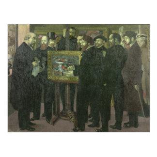 Cartão Postal Homenagem a Cezanne, 1900