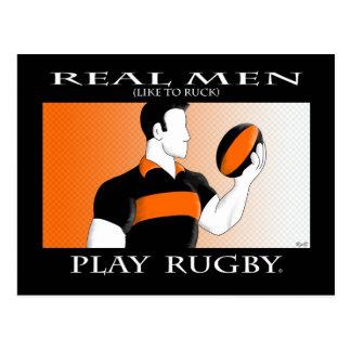 Cartão Postal Homens reais: Rugby