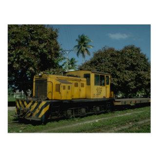 Cartão Postal Honduras, diesel Tele do RR Plymouth