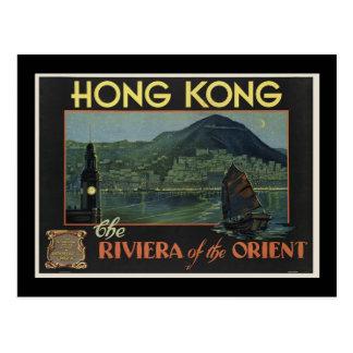Cartão Postal Hong Kong o Riviera do oriente
