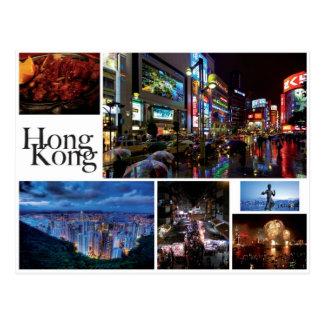 Cartão Postal Hong Kong - Postal Card (white)