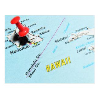 Cartão Postal Honolulu, Havaí