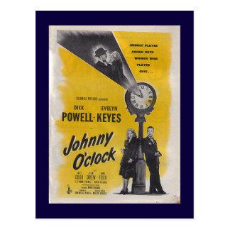 Cartão Postal Hora de Johnny -- Poster monocromático