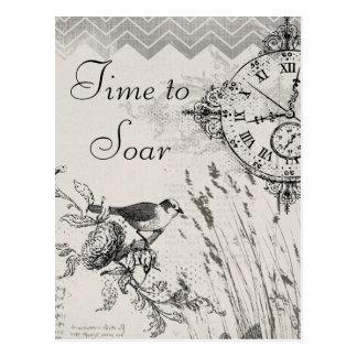Cartão Postal Hora de subir