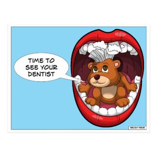 Cartão Postal Hora de ver seu dentista