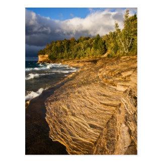 Cartão Postal Hora dourada na praia do mosquito - postcardcopy