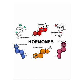 Cartão Postal Hormonas