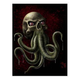 Cartão Postal Horror de Lovecraftian