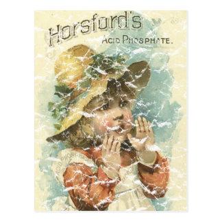 Cartão Postal Horsfords-1898 - afligido