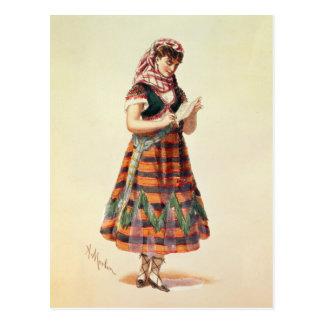 Cartão Postal Hortense Schneider