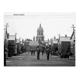 Cartão Postal Hospital real de Netley Victoria - Hampshire