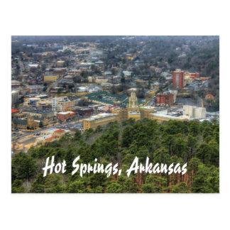 Cartão Postal Hot Springs, Arkansas