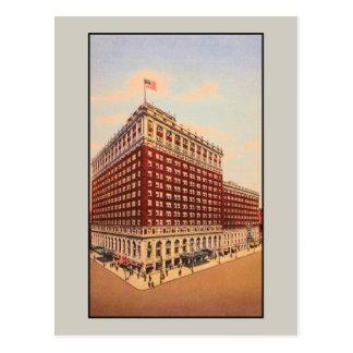 Cartão Postal hotel de Brown do vintage (Louisville, Kentucky)