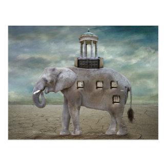 Cartão Postal Hotel do elefante