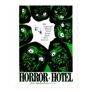 Cartão Postal Hotel do horror