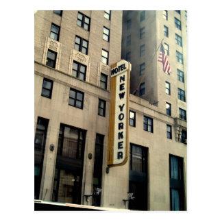 Cartão Postal Hotel do Nova-iorquino
