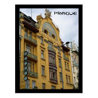 Cartão Postal Hotel Evropa