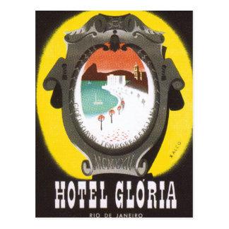 Cartão Postal Hotel Gloria