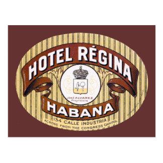 Cartão Postal Hotel Regina Habana Cuba