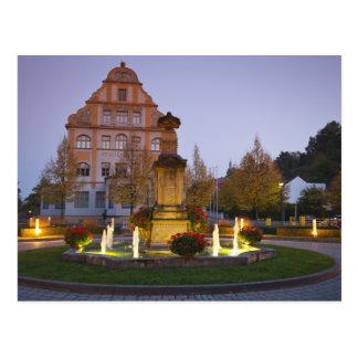 Cartão Postal Hotel Residenzschloss Bamberga, Alemanha