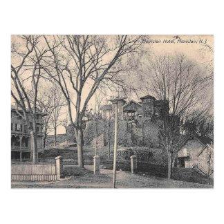 Cartão Postal Hotel, vintage de Montclair NJ