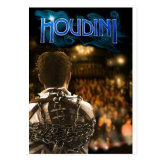 Cartão Postal Houdini oficial a mercadoria do jogo