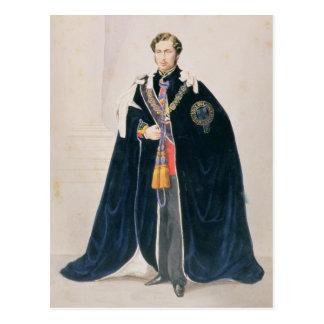 Cartão Postal HRH Albert Edward, príncipe de Gales