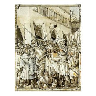 Cartão Postal Humilhação de Hans Holbein- do Valerian do
