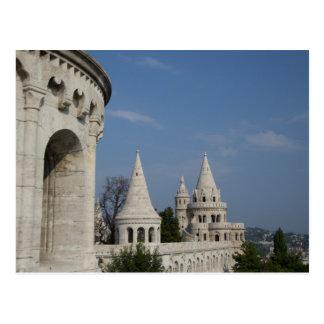 Cartão Postal Hungria, capital de Budapest. Buda, castelo