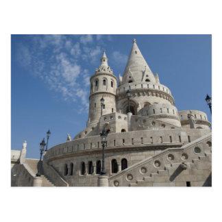 Cartão Postal Hungria, capital de Budapest. Buda, castelo 2