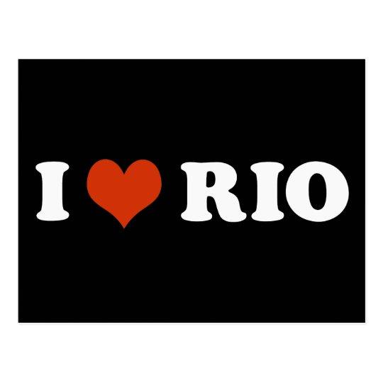 Cartão Postal I love Rio de Janeiro