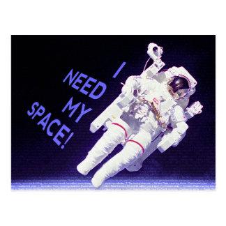 Cartão Postal I Need My Space