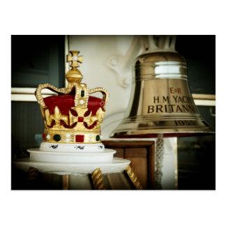 Cartão Postal Iate real Britannia
